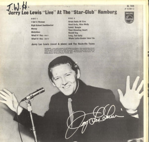 Jerry Lee Lewis Live At The Hamburg