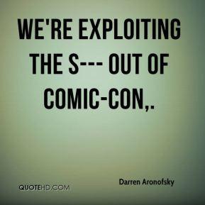 Darren Aronofsky Quotes