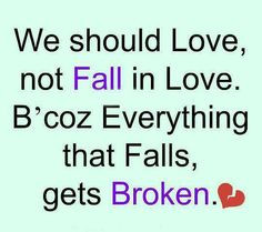 Always falling for the wrong person!!