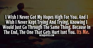 Hurt Quotes Hurt quotes