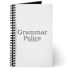 Grammar Police Journal for