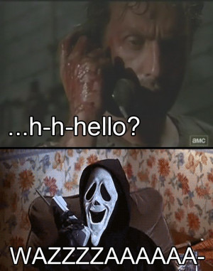Scream Answers Rick