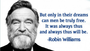 There is no doubt the world lost a special man in Robin Williams. May ...
