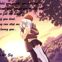 anime love couple quote cute photo: anime love1 love972.jpg