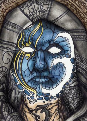Johnny 3 Tears Mask by JainaOkamii