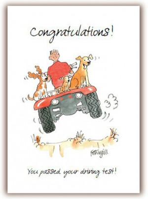Funny Congratulations Ecard Driving Sober