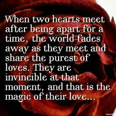 ... together again. It is a beautiful thing. #love #quotes #reunited More