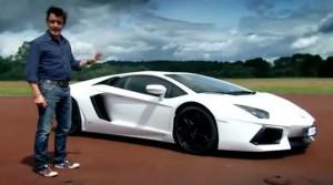 Video: Richard Hammond test drives the Lamborghini Aventador
