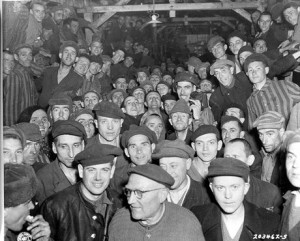 Buchenwald concentration camp (photo taken on liberation)