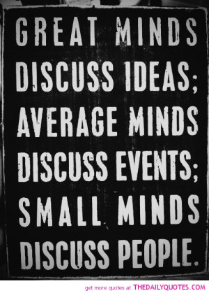 Famous Mind Quotes with Images - Photos - Pictures - Great minds ...
