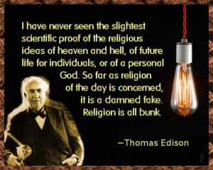 Thomas Alva Edison Quotes (Images)