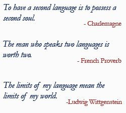 learn new languages. (French, Spanish, and Italian to be specific)