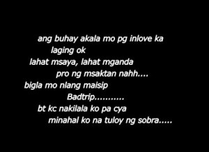 Funny Love Quotes Tagalog...