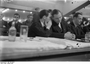 Home » Photos » Goebbels and Rosenberg at the Berlin Sports Palace ...