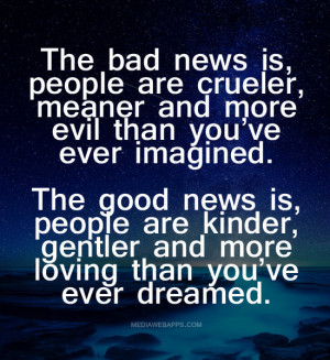 quotes about quotes and sayings about mean people people are just as ...