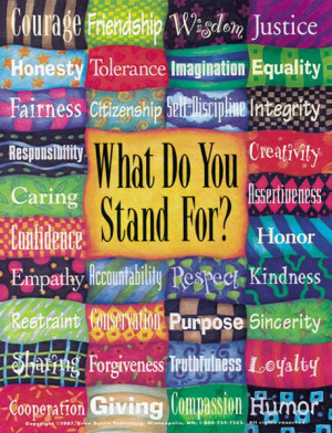 What Do You Stand For? Poster