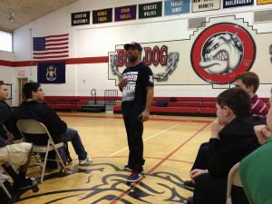 Motivational speaker Eric Thomas challenges Burton Bentley students to ...