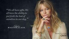 We all have gifts. We all have the ability to put forth the best of ...