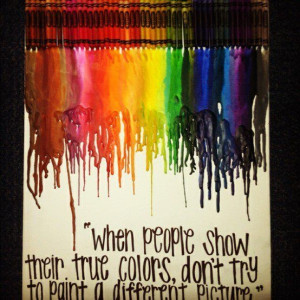 ... Quotes, Red Hair, Cute Quotes, Crayons Melted Quotes, True Colors