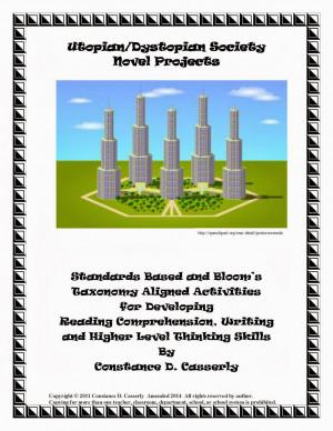 ... -Arts-Activities-Utopian-and-Dystopian-Society-Novel-Projects-1124376