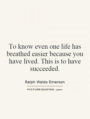 Life Quotes Success Quotes Helping Others Quotes Helping Quotes Ralph ...