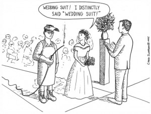 Funny wedding cartoon, wedding cartoons, funny wedding, wedding ...