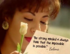 Selena Quintanilla quote ♥