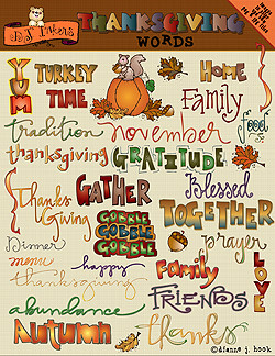 ... words clip art download thanksgiving words clip art download