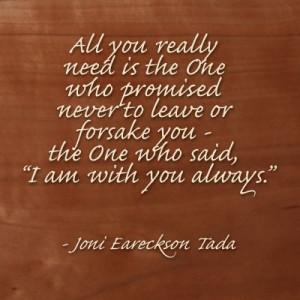 ... Joni Eareckson Tada #comfort #comfort #quote www.longlearurns.com