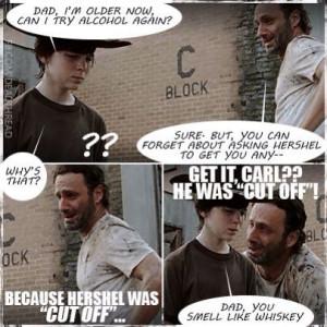 Funny Walking Dead