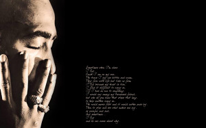 Tupac Shakur quote wallpaper