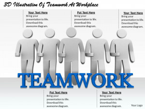 Teamwork Quotes For The Workplace 1813_3d_illustration_of_ ...