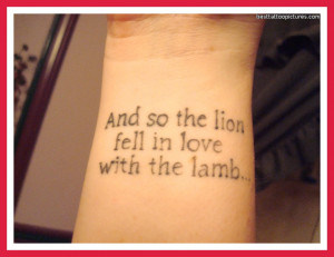 Tattoo Quotes For Men About Life Lyrics