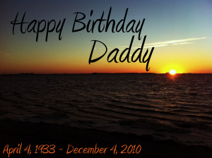 birthday in heaven for dad quotes