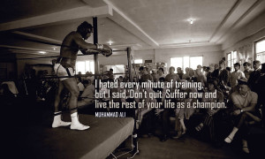 Muhammad Ali Motivational Wallpaper