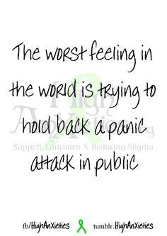 quotes about panic attacks - Google Search
