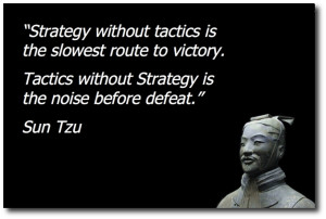 sun tzu wrote the art of war 2500 years ago because china declared war ...