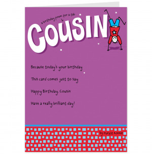Funny Cousin Quotes Funny happy birthday cousin