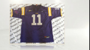 18$ NCAA FootBall LSU Tigers Spencer Ware replica Jersey Wholesale #11 ...
