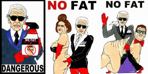 No one wants to see curvy women: Karl Lagerfeld