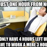 Funny Office Sign Men...