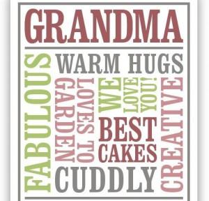 Grandma Gifts, Grandma Grandpa, Grandma Quotes, Grandkids Grandparents ...