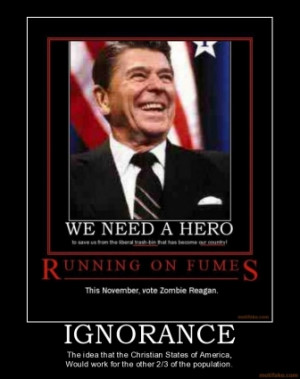 IGNORANCE - The idea that the Christian States of America, Would work ...