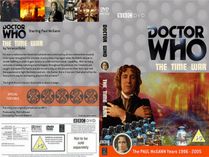 Paul McGann's Final Adventure-DVD Cover by Lesather