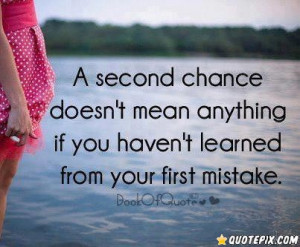 Second Chance Doesn\