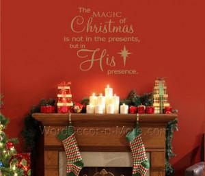 nov2011home magic of christmas jpg magic of christmas holiday wall ...