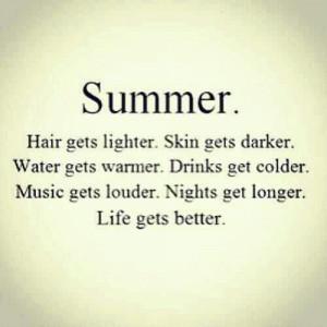 Summer nights!