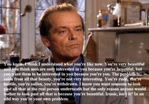 Jack Nicholson On Beauty And Attraction