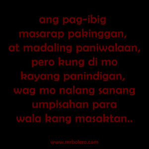 tagalog sad love quotes masaktan.fw