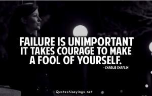 Failure quotes, funny failure quotes, failure quote